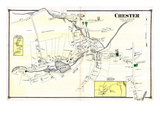 1874, Chester Town, Connecticut, United States Giclee Print