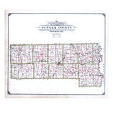 1916, Putnam County School District Map, Missouri, United States Giclee Print