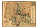 1822, Baltimore, Maryland, United States Giclee Print