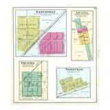 1894, Yatesville, Arcadia, Prentice, Neelyville, Illinois, United States Giclee Print