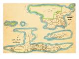 1914, Cliff Island, Cushings Island, Maine, United States Giclee Print