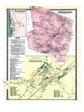 1870, Sterling, Sterling Town, Sterling West, West Sterling, Massachusetts, United States Giclee Print