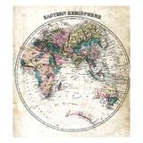 1877, Eastern Hemisphere, Maryland, United States Giclee Print