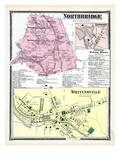 1870, Northbridge, Linwood, Whitinsville, Massachusetts, United States Giclee Print