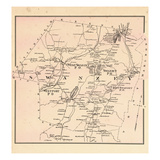 1877, Swanzey Township, Westport, New Hampshire, United States Giclee Print