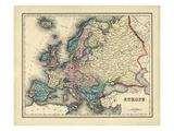 1876, Europe Giclee Print