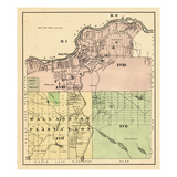 1877, Fort Kent, Wallagrass Plantation, Maine, United States Giclee Print