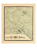 1876, Ada Township, Michigan, United States Giclee Print