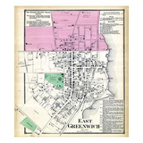 1870, Greenwich Town East, Rhode Island, United States Giclee Print