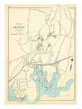 1893, Greenwich Borough, Connecticut, United States Giclee Print