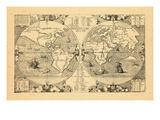1571, World Giclee Print