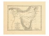 1829, Egypt, Saudi Arabia Giclee Print