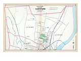 1893, Hartford City - North Part, Connecticut, United States Giclee Print