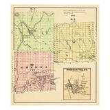 1877, Sherman Village, Smyrna, Maine, United States Giclee Print