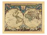 1662, World Giclee Print