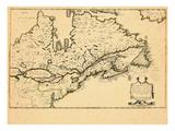 1643, Canada Giclee Print