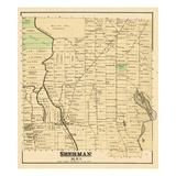 1877, Sherman, Maine, United States Giclee Print
