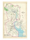 1893, Norwalk Borough, South Norwalk City, Connecticut, United States Giclee Print