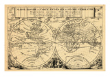 1692, World Giclee Print