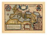 1598, Europe Giclee Print