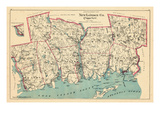 1893, New London County - South Part, Connecticut, United States Giclee Print
