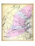 1884, Rockland City, Maine, United States Giclee Print