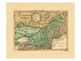 1759, Massachusetts, New Hampshire, New York, Ontario, Seat of War Giclee Print