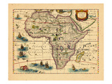 1633, Africa Giclee Print