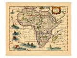 1633, Africa Giclee Print