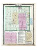 1873, Minonk, Panola, Benson, Illinois, United States Giclee Print