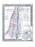 1864, Israel, Jordania, Palestine, Asia, Holy Land, Palestine, Modern Jerusalem Giclee Print