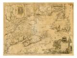 1759, New Brunswick, Newfoundland and Labrador, Nova Scotia, Prince Edward Island Giclee Print