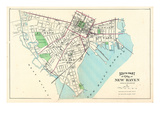 1893, New Haven City - South Part, Connecticut, United States Giclee Print