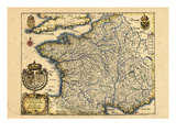 1640, France Reproduction procédé giclée