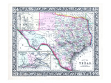 1864, United States, Texas, North America Giclee Print