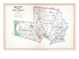 1893, New Haven City - North Part, Connecticut, United States Giclee Print
