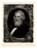 1881, Henry Wadsworth Longfellow Portrait Giclee Print