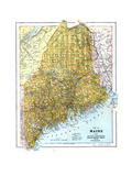 1924, Maine Giclee Print