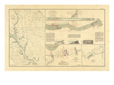 1891, Arkansas, Louisiana, Civil War Giclee Print