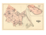 1879, Duxbury Town, Duxbury Village, Massachusetts, United States Giclee Print