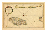 1753, Jamaica Giclee Print