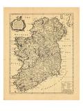 1741, Ireland Giclee Print