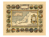 1608-12, Israel, Jordania, Palestinian Territories Giclee Print