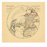 1714, World, Northern Hemisphere Giclee Print