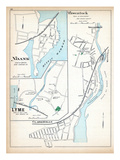 1893, Pawcatuck, Noank, Lyme, Clarksville, Connecticut, United States Giclee Print