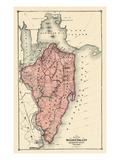 1874, Staten Island, New York, United States Giclee Print
