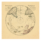 1714, World, Southern Hemisphere Giclee Print