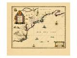 165258, Massachusetts, New York, Virginia, Nova Scotia, Connecticut, Maine, Maryland, New Jersey Giclee Print
