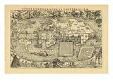 1555, World Giclee Print