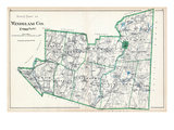 1893, Windham County - South Part, Connecticut, United States Giclee Print